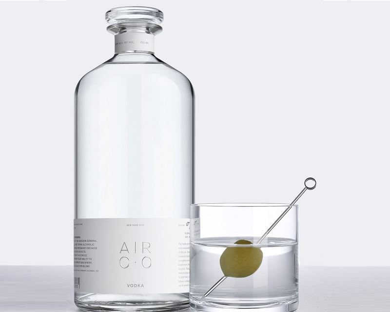 NYC company makes Vodka from air & water