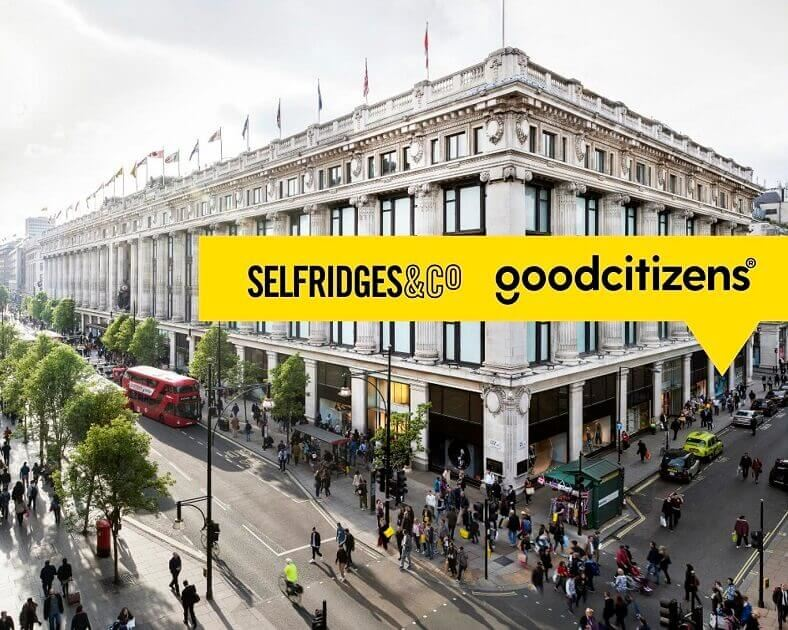 Good Citizens have made it to High Street, London
